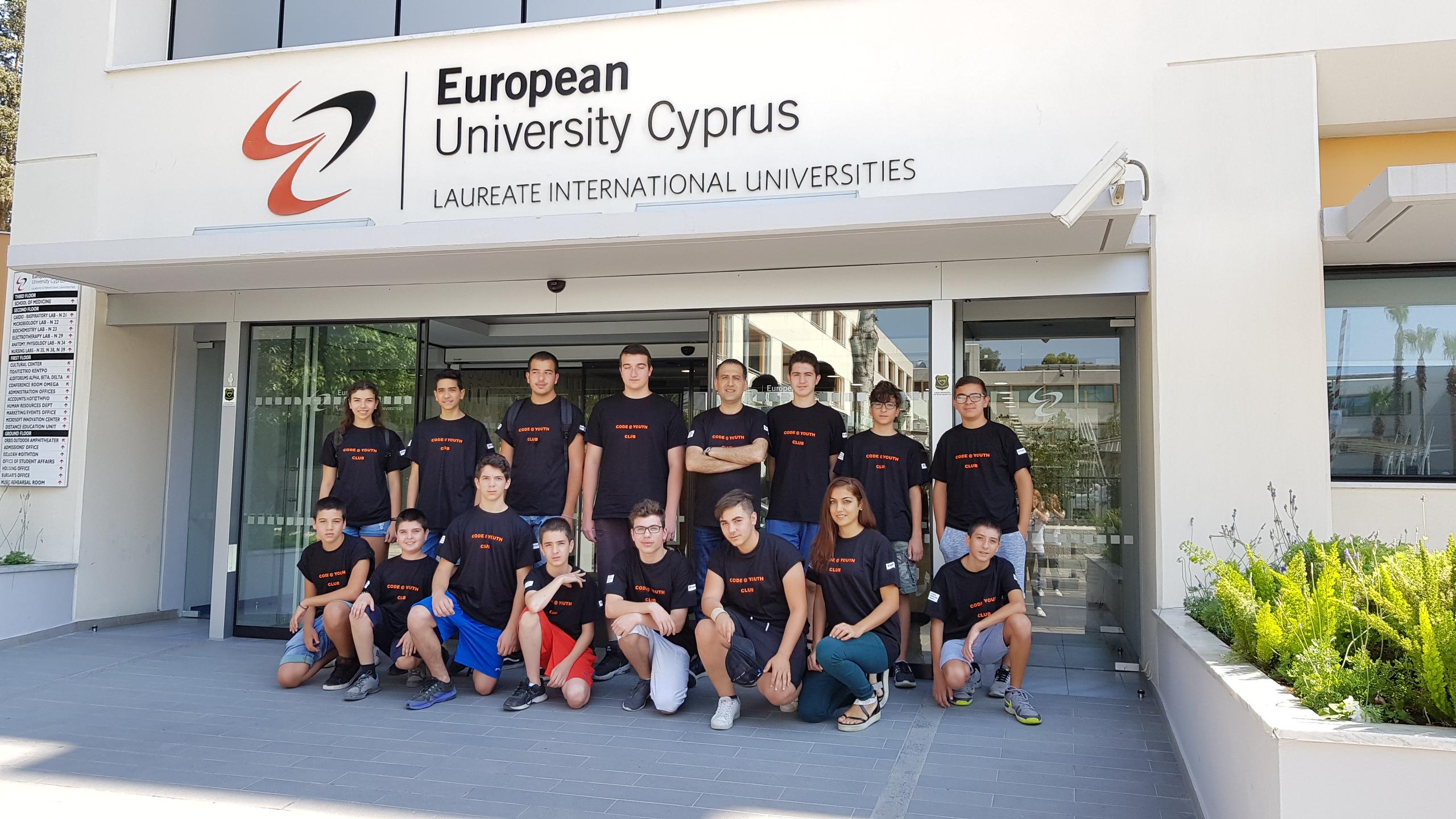 Summer School CYPRUS VISIT EUROPEAN UNIVERSITY