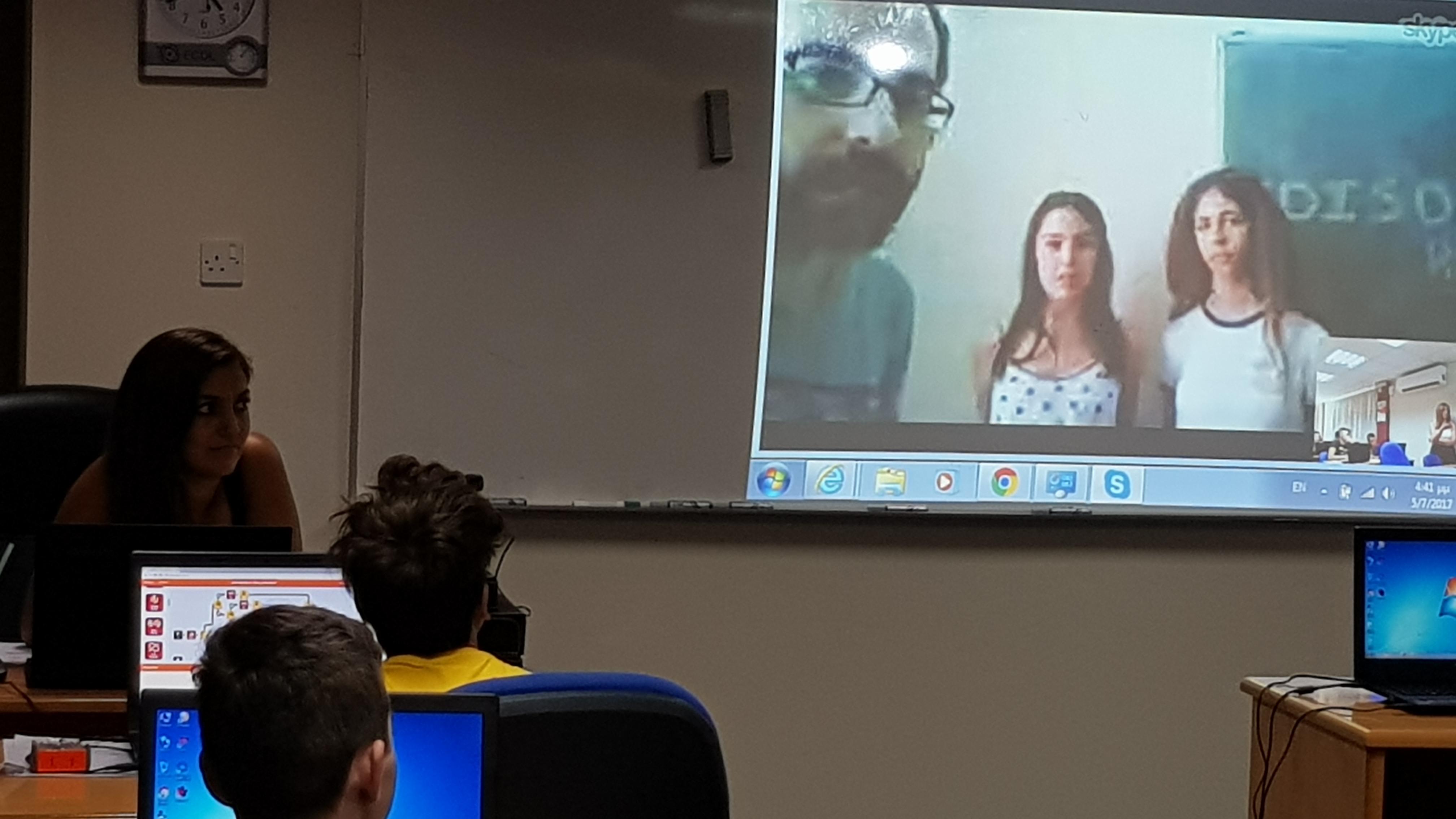 Skype meeting - DEMOKRITOS